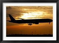 Framed Pakistan International Airlines Boeing 777