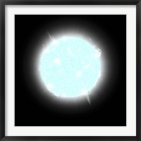 Framed Blue Dwarf Star