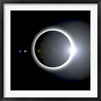 Framed Solar Eclipse