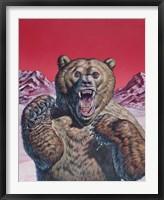 Framed Cave Bear