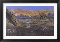 Framed Titanosaur