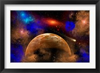 Framed Colorful Star System