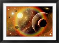 Framed Planetary System in Nebula