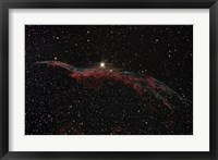 Framed NGC 6960, The Western Veil Nebula