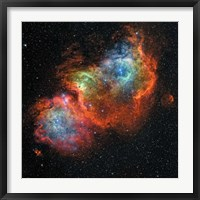 Framed IC 1848, Soul Nebula