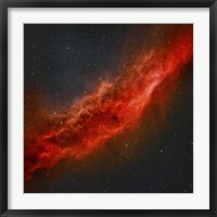 Framed California Nebula