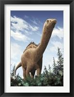 Framed Demandasaurus