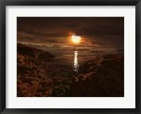 Framed Exoplanet Gliese 581D