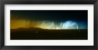 Framed Lightning Storm
