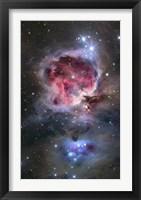 Framed Orion Nebula