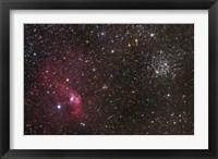 Framed Bubble Nebula