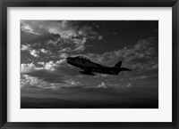 Framed F-86F Sabre