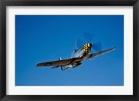 Framed P-51D Mustang Kimberly Kaye