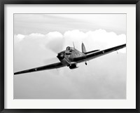 Framed Hawker Hurricane Aircraft