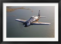 Framed Grumman F8F Bearcat