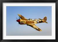 Framed P-40N Warhawk