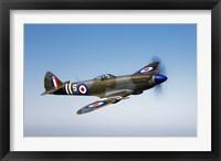 Framed Supermarine Spitfire Mk-18