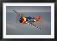 Framed Republic P-47D Thunderbolt