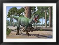 Framed Megaraptor