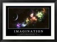 Framed Imagination: Inspirational Quote and Motivational Poster