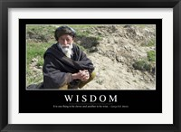 Framed Wisdom: Inspirational Quote and Motivational Poster