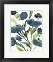 Blueberry Blooms  II Framed Print