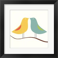 Framed Songbirds IV