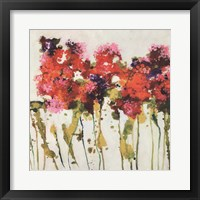 Framed Dandy Flowers I