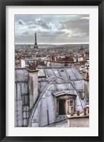 Framed Paris Rooftops