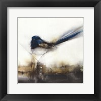 Little Blue II Framed Print