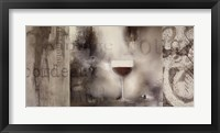 Cellar Wine II Framed Print