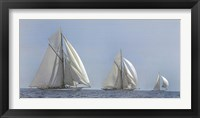 Framed Three Sails