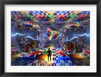 Framed Extraterrestrial Life (3D)