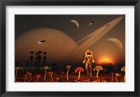 Framed Moon of a Distant Alien World