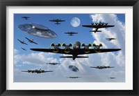 Framed UFO Sightings during World War II