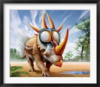Framed Rubeosaurus