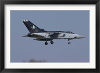 Framed Panavia Tornado F3 of the Royal Air Force