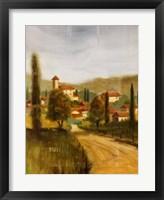 Italian Sojourn II Framed Print