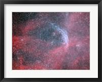 Framed WR 134, a Wolf-Rayet Star