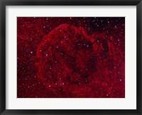 Framed Jellyfish Nebula