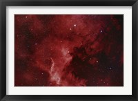 Framed NGC 7000, The North America Nebula