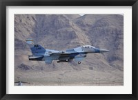 Framed F-16C Falcon