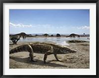 Framed Uberabasuchus Terrificus