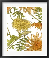 Autumn Garden II Framed Print