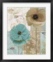 Beach Poppies I Framed Print