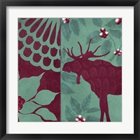 Woodland Winter II Framed Print