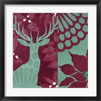 Woodland Winter IV Framed Print