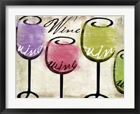 Wine Tasting III Framed Print