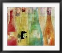 Bouteilles I Framed Print