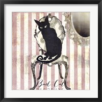 Bad Cat I Framed Print